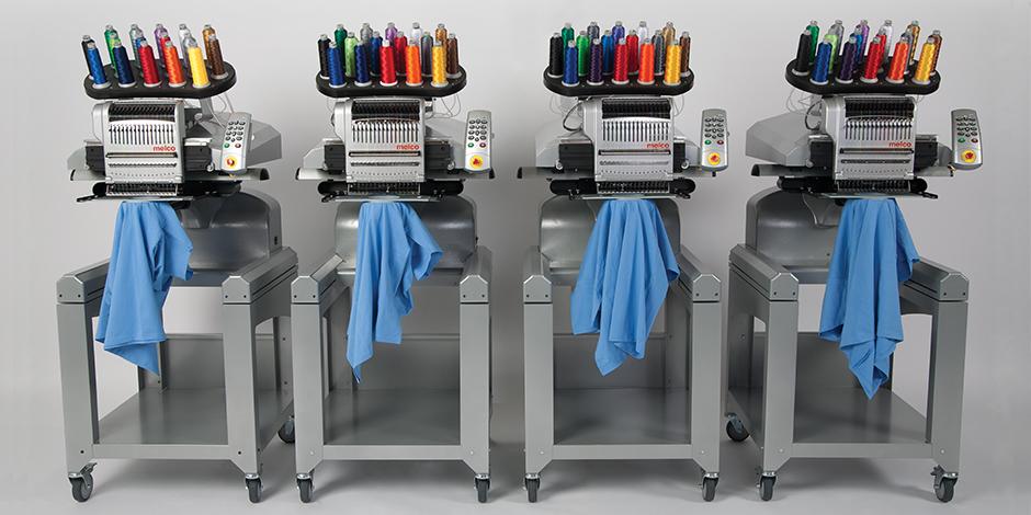 Melco EMT16 es la máquina de bordar más rápida del mercado